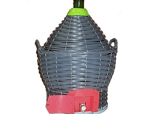 Demijohn 34 litre with tap