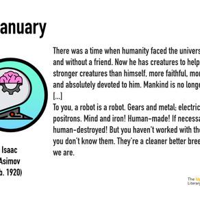 The Literary Year:  02 January