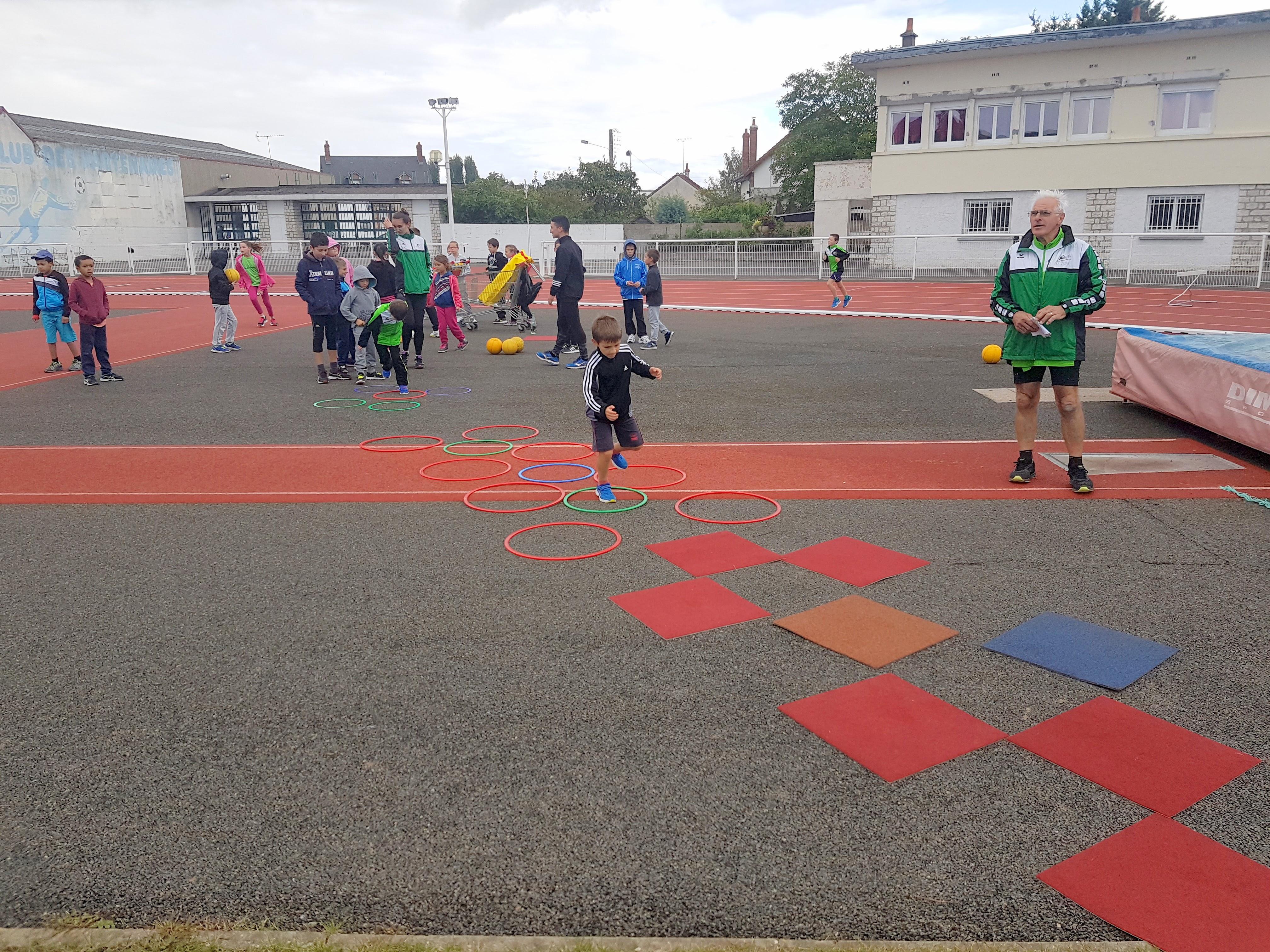 Kinder Athletics day Gien