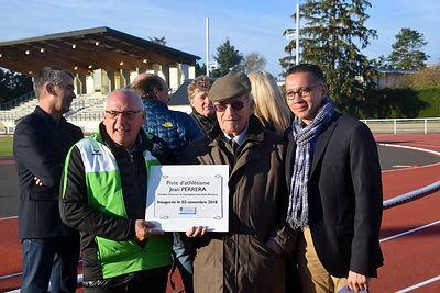 Inauguration piste Jean PERRERA 03-11-20