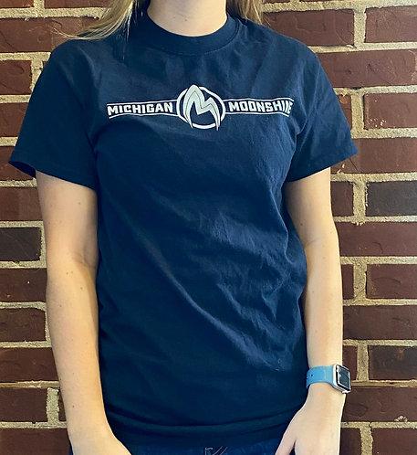 Full logo t-shirt, navy blue