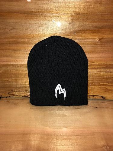 Black beanie cap