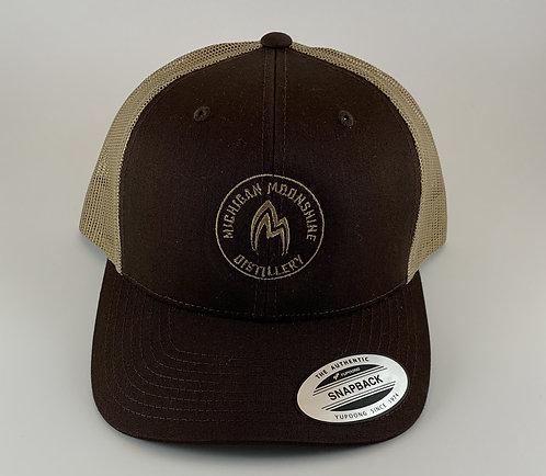 Brown Snap Back Hat