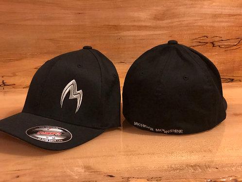 Black hat with offset logo