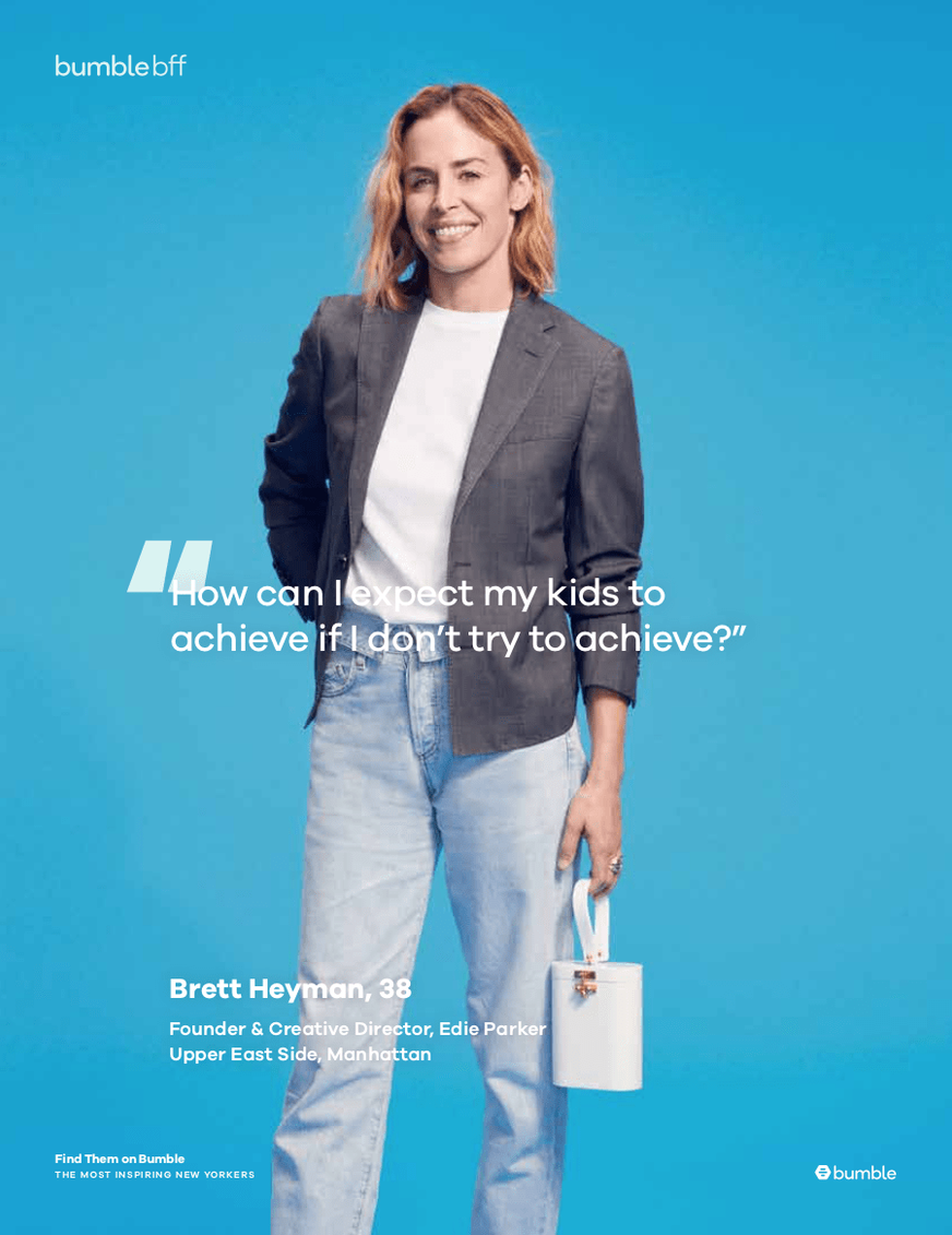 Bumble's Most Inspiring New Yorkers