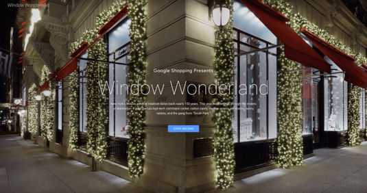 Google Window Wonderland