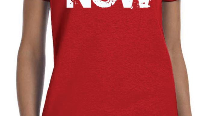 Ladies Red T-Shirt