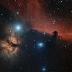 NGC 2024, Barnard 33