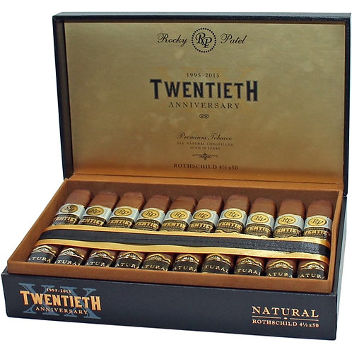 Rocky Patel 20th Anniversary-Rothschild Cigars- 20 Ct.