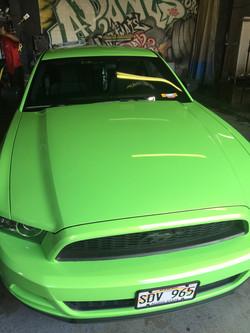 """Before"" 2014 Mustang"