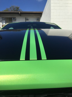 """""""After"""" 2014 Mustang PINSTRIPE"""