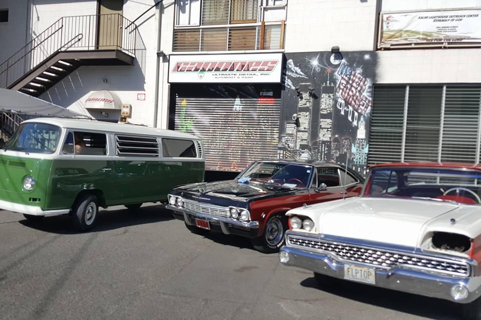 Old Skool Car line up