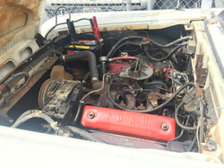 1959Ford Fairline Engine BEFORE