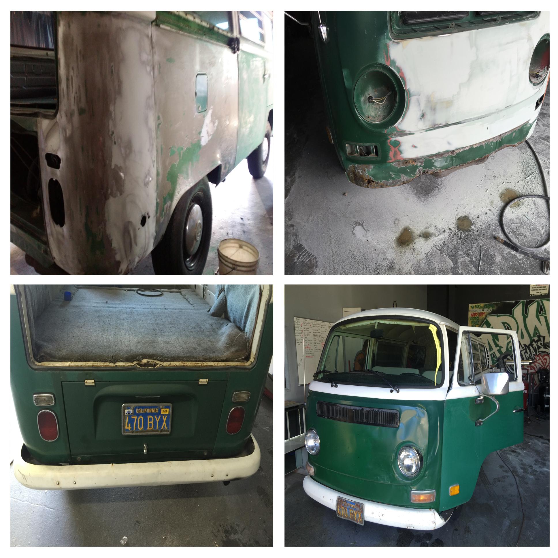 1971 Green VW