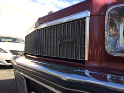 1975 Chevy Capric Chrome cleaning