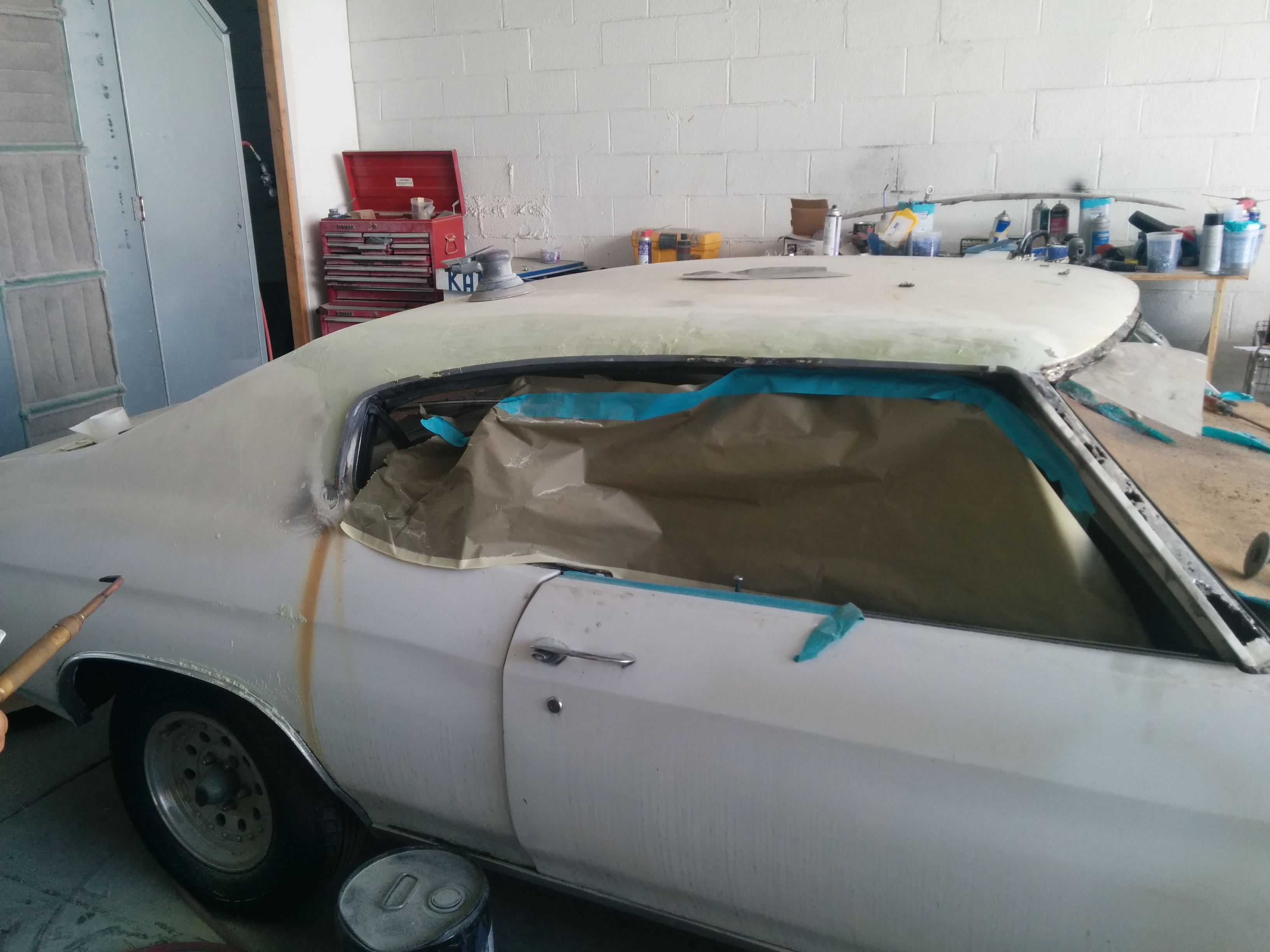 1961 Chevlle BEFORE