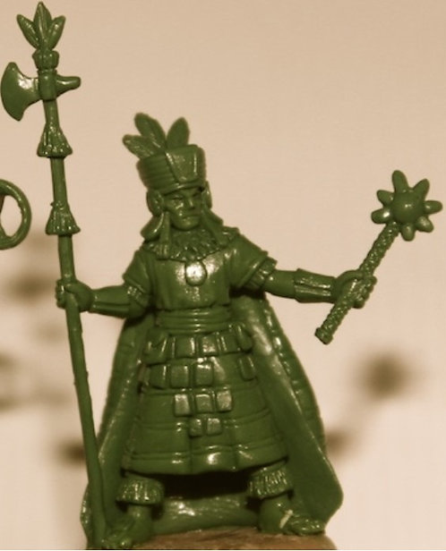 Inca General On Foot
