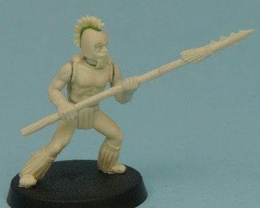 Hawaiian Spearmen Unit