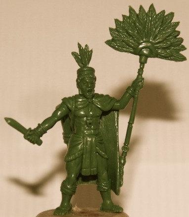 Aztec Temple Priest