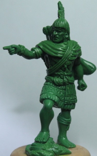Aztec Officer (Pointing)