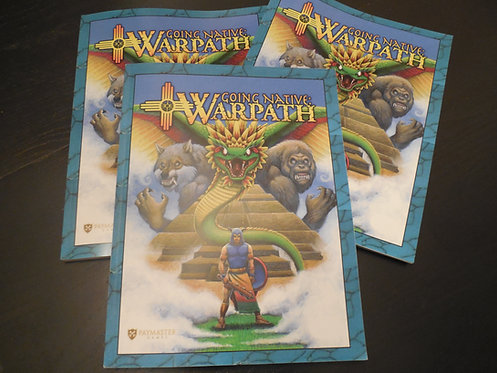 Going Native: Warpath Rule Book (Digital)