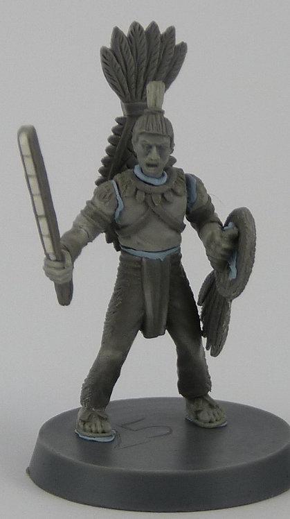 Aztec Otomi Mercenary Warrior 5 Man Unit