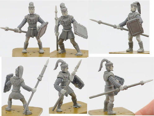 Mayan Holcan Professional Soldiers