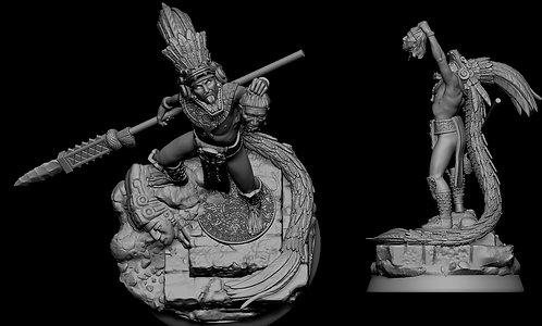 Mayan Officer (Serpent General)