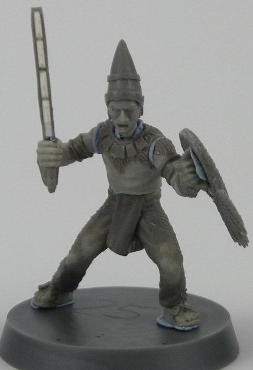 Aztec Warrior Priest 5 man unit