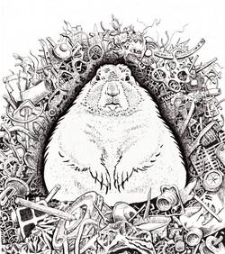 Groundclog-Ink- by zoe Matthiessen