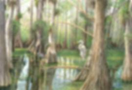 CypressVigil in watercolor and gouache b