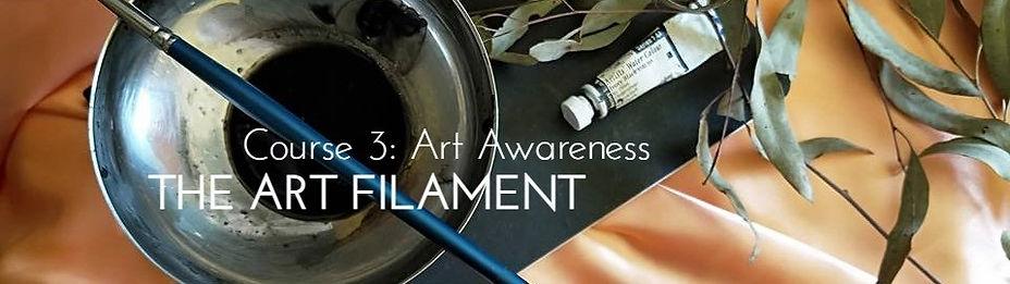 Header TheArtFilament Course 3 Art Aware