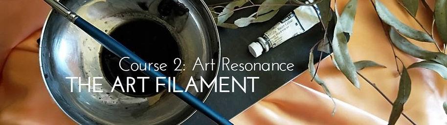 HeaderTheArtFilament Course 2 Art Resona