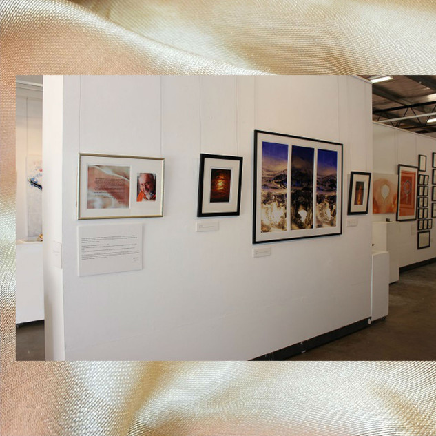 Image subject to Copyright. Gallery view.  Work in view, both Keith Chidzey & Erin Kathleen Muir, seperately.