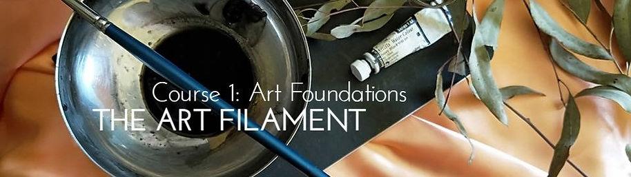 Header_TheArtFilament_Course1 Art Founda