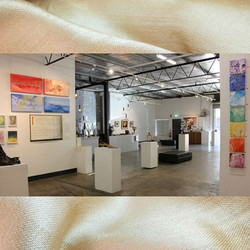 Image subject to Copyright. Gallery view.  Work in view includes Erin Kathleen Muir, Keith Chidzey & Sue Bishop, seperately.