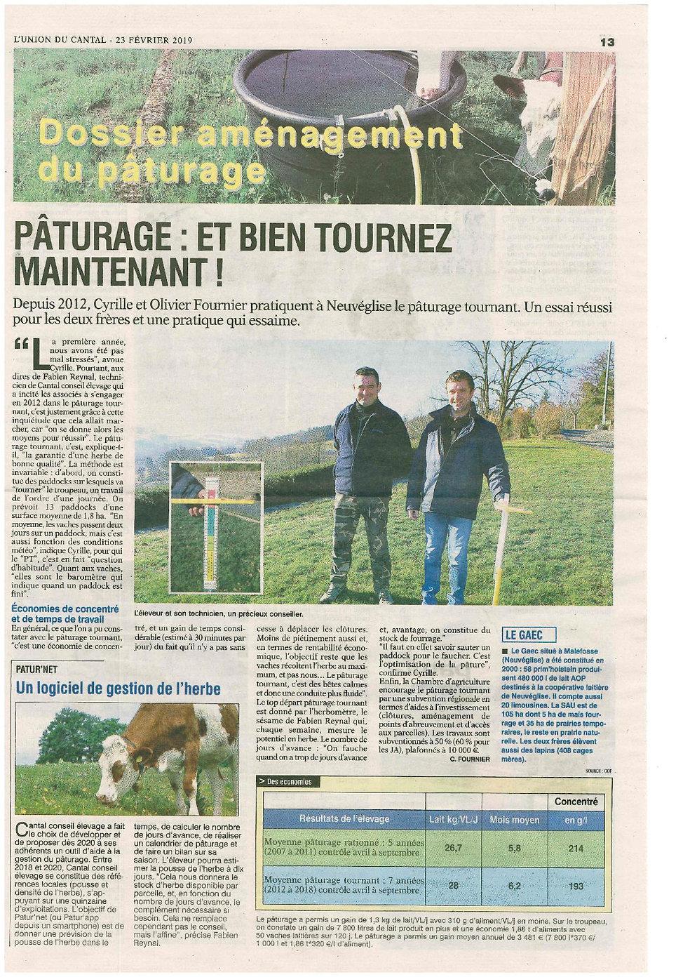article_pâturage_tournant_GAEC_Fournier.