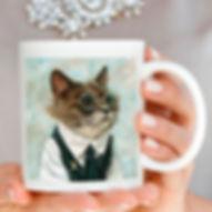 mug retrats de gats i gossos