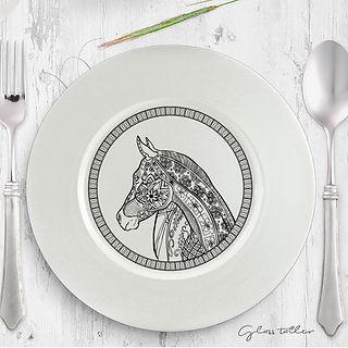 plat cavall i ponis