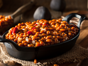 Healthier BBQ Baked Beans