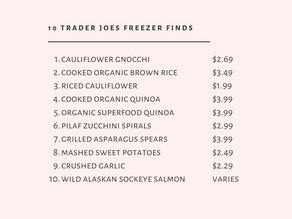 Top 10 Trader Joe's Freezer Finds