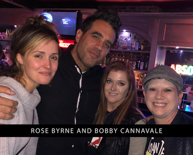 Rose Byrne and Bobby Cannavale with Jami and jen