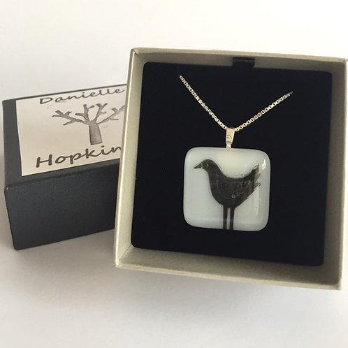 Large bird necklace