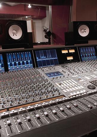 Tapelab, Recording Studio,Studio, Mixing Desk, Mixer, Mixing Console, Faders, Speakers, Music Production Workshop