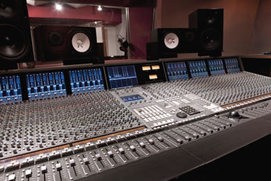 Social sound productions studio mixing board