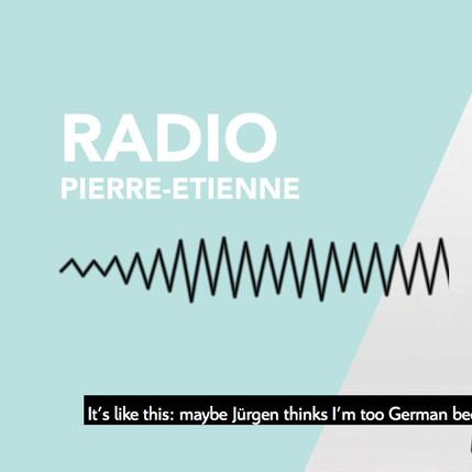 """Zitrön Radiocommercial """"Pierre-Etienne"""""""