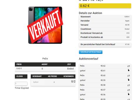 """Apple iPad Pro 12,9"""" 128 GB"""