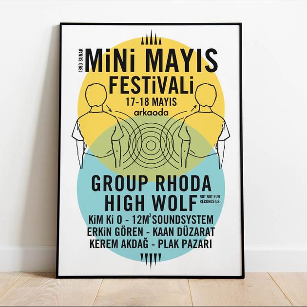 Mini May Fest poster