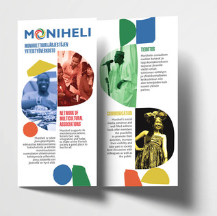 Brochure for Moniheli