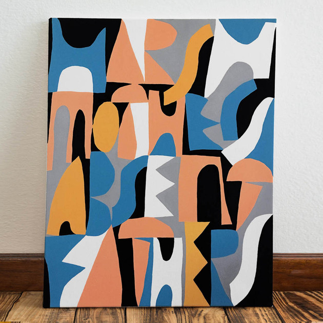 harsh mothers, absent fathers / 85x75
